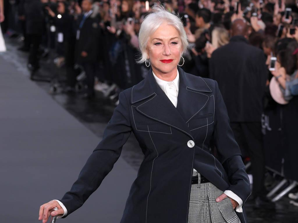 Helen Mirren And Jane Fonda Hit The Runway At Paris Fashion Week