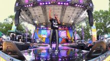 Big Sean jams out to 'Jump Out The Window' live on 'GMA'