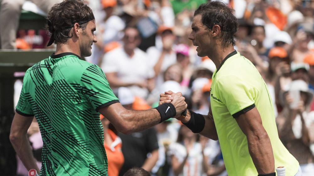 Roger Federer und Rafael Nadal lieferten sich ein großartiges Endspiel in Miami