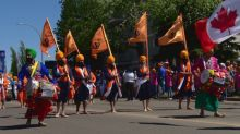 Edmonton Sikh parade draws tens of thousands to Mill Woods neighbourhood