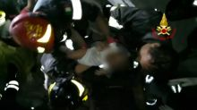 Infant rescued from wreckage after deadly quake in Italy