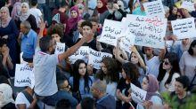 Cisjordanie: manifestation de solidarité avec Gaza