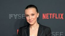 14-year-old Millie Bobby Brown's moonlight kiss with boyfriend provokes critics