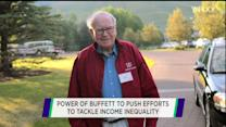 Warren Buffett's solution to income inequality could work
