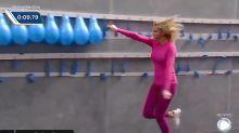 Ana Hickmann estoura 200 balões em 12 segundos e garante memes incríveis