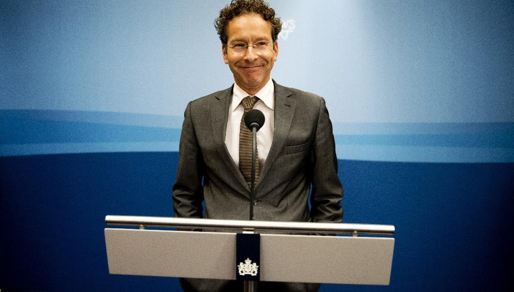 Jeroen Dijsselbloem rose from obscurity to become an unflappable dealmaker as the head of Eurogroup (AFP Photo/ROBIN UTRECHT)