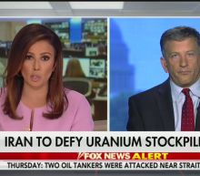 Trump Cryptically Parrots Fox News Graphic Encouraging Iran Military Strike