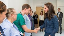 Duchess of Cambridge makes surprise visit to London terror attack victims