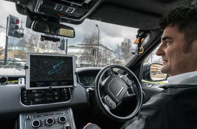 Jaguar Land Rover tests autonomous parking on public roads