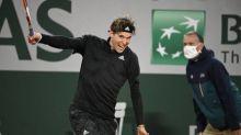 Roland-Garros (H) - Roland-Garros: Dominic Thiem se qualifie pour le deuxième tour en battant en trois sets Marin Cilic