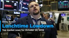 The Lunchtime Lowdown - Your midday update for Oct. 22