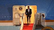Raw: Obama Returns Home After Middle East Trip