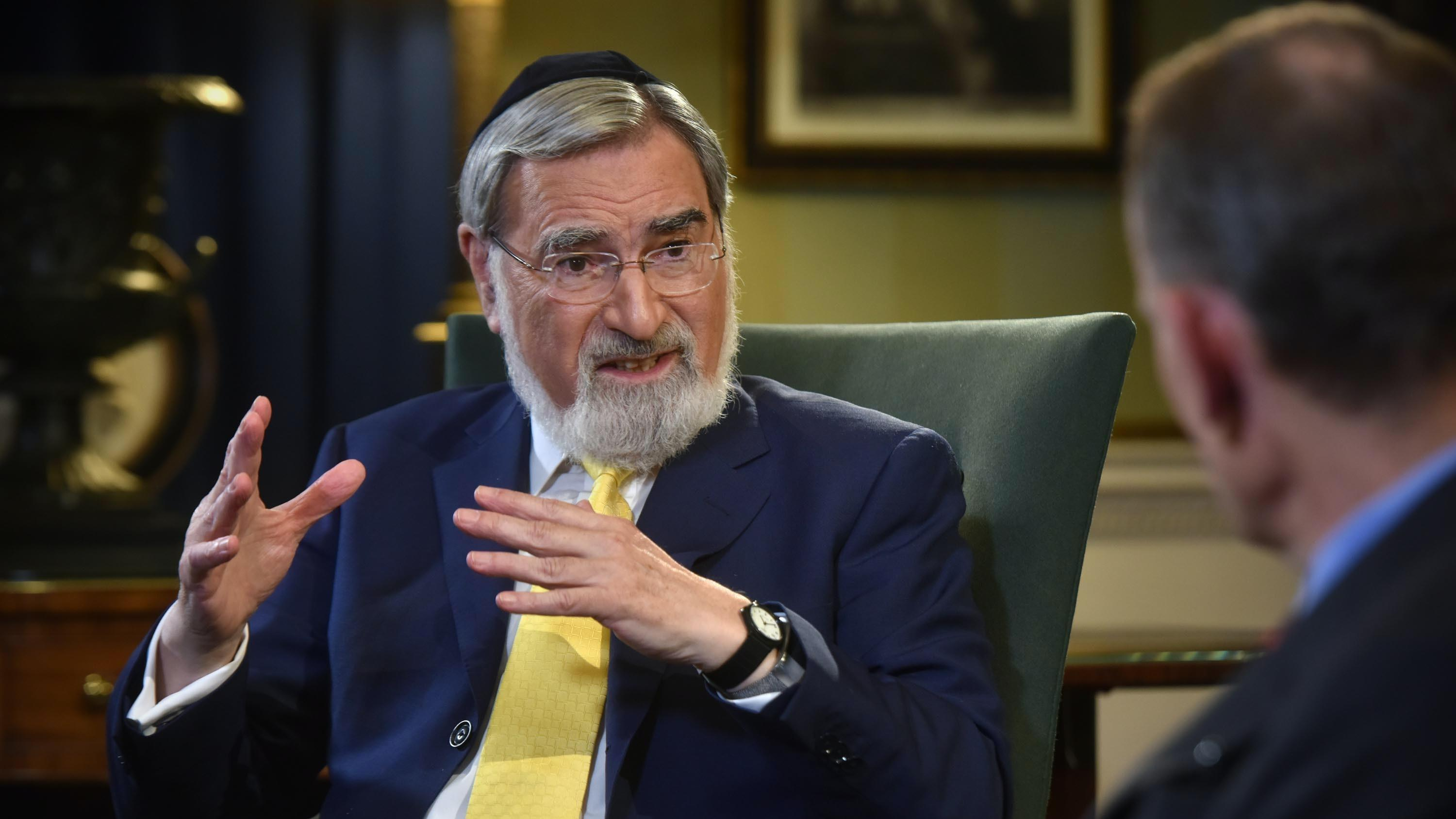 Former chief rabbi Lord Sacks dies
