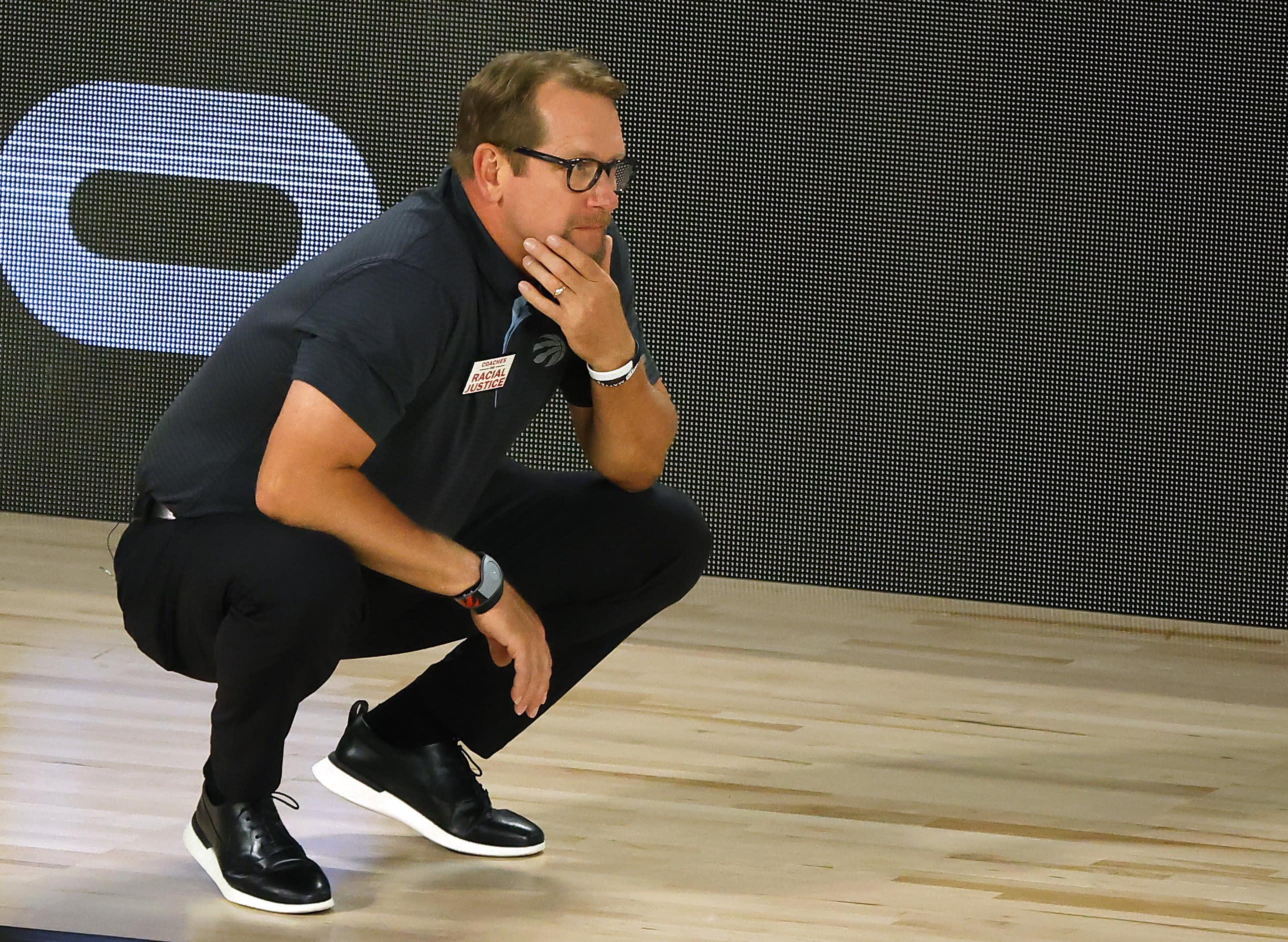 Toronto Raptors' Nick Nurse voted NBA Coach of the Year