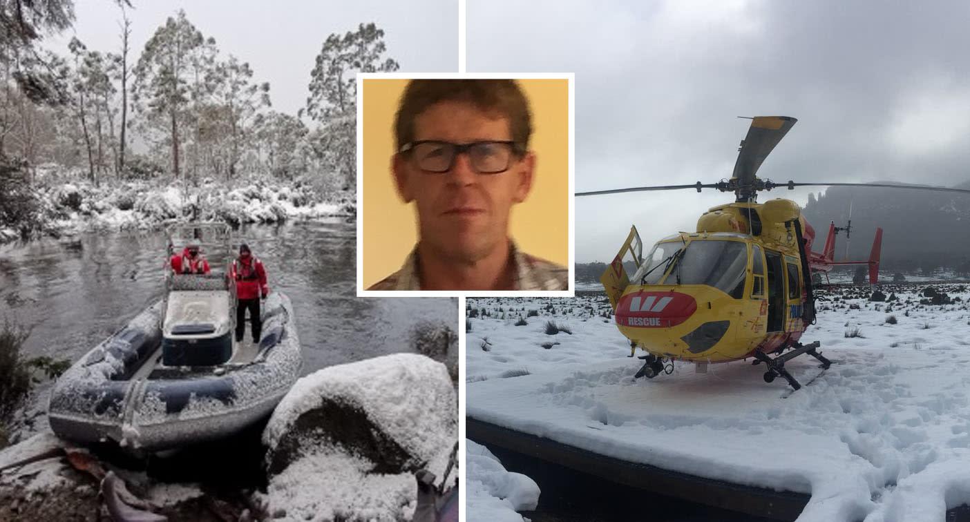 Bushwalker found alive days after going missing in freezing Tasmania