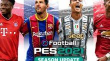 esport - Messi et Ronaldo réunis sur la cover de PES 2021