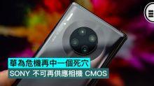 華為危機再中一個死穴,SONY 不可再供應相機 CMOS