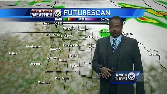 Monday's rain chances best early, late