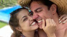 'A cada dia te amamos mais, minha filha', diz mulher de Adnet ao anunciar gravidez