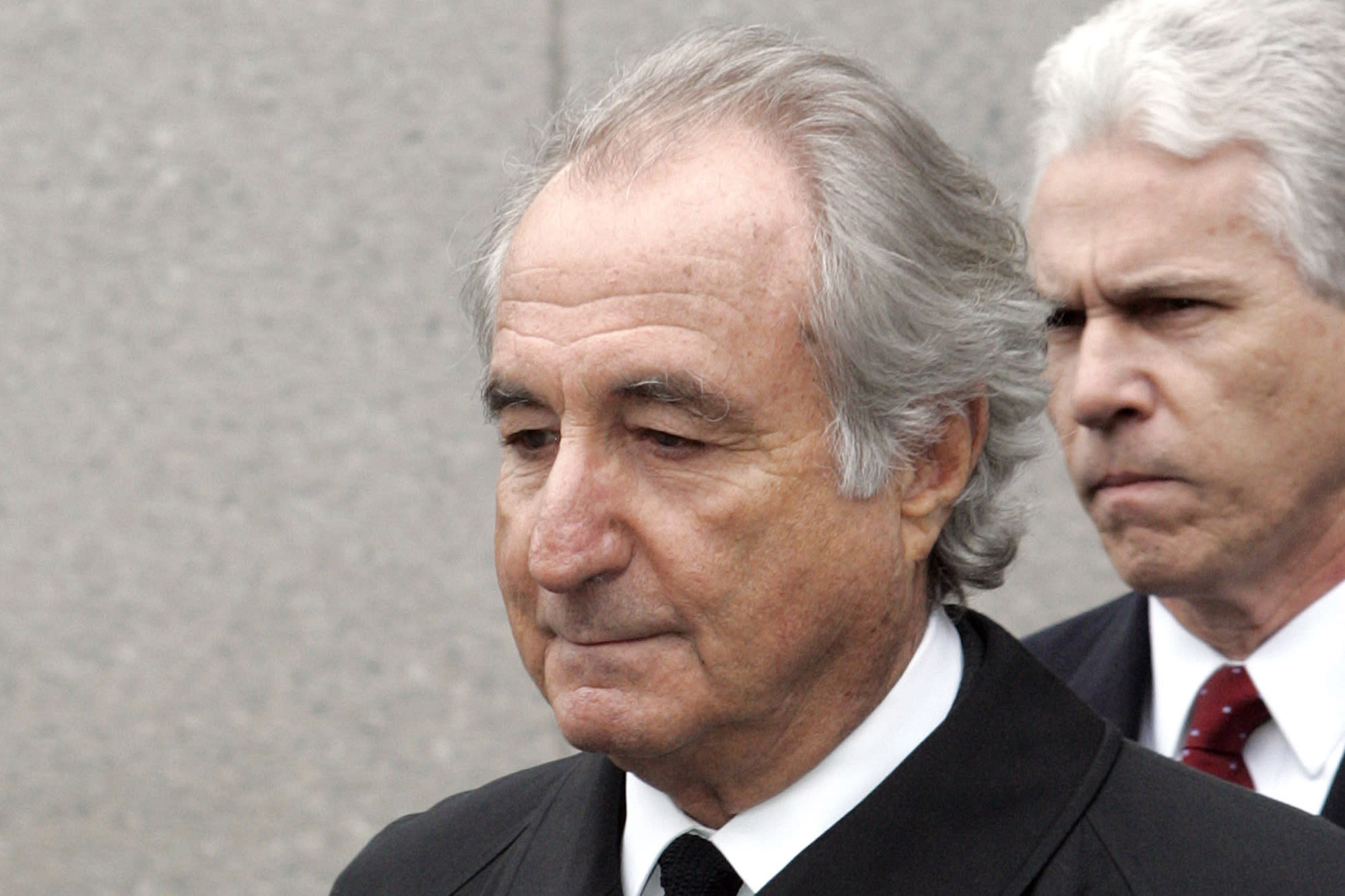 Image AP source: Ponzi schemer Bernie Madoff dies in prison