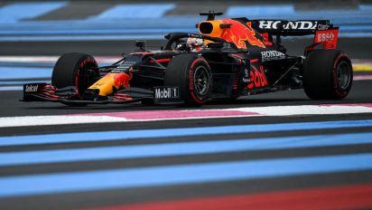 Max Verstappen fue el más rápido en la clasificación del GP de Francia y logró su segunda pole position del año
