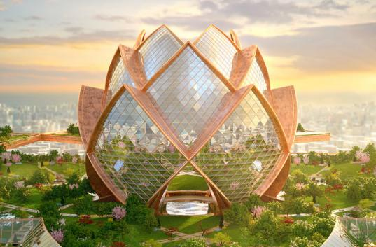 Inhabitat's Week In Green: cities in the sky, a cloned Chinese village and a few green DIY Father's Day projects
