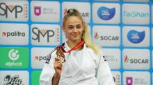 Aos 17 anos, ucraniana se torna a campeã mundial mais nova da história do judô