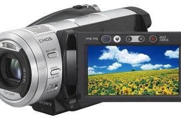 Sony unveils HD options with HDR-UX1 AVCHD cam alongside HDD unit