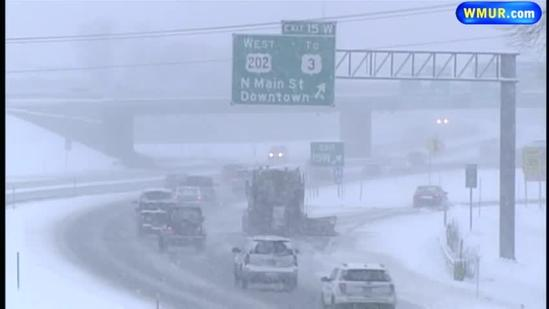 Traffic management center monitors another snow storm