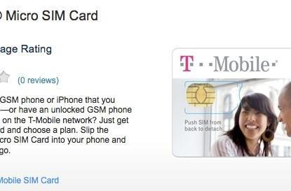 T-Mobile hawks Micro SIMs for 'free', hopes your iPhone likes EDGE data