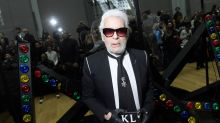 Karl Lagerfeld switches up legendary look for the first time in 20 years but the fashion crowd is divided