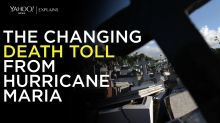 Yahoo News explains: The changing death toll from Hurricane Maria