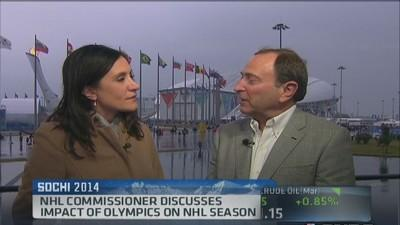 NHL Commissioner: Olympics impact our season