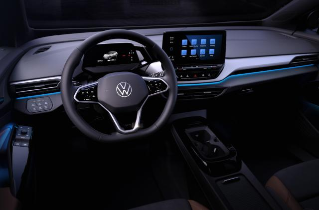 Volkswagen shows off ID.4's interior ahead of official debut