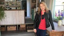 Sarah Beeny: 'I lived in the back of an ex-council van with my husband'