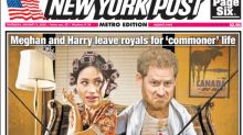 'What are Harry and Meghan thinking?': How the world's newspapers reported Sussexes stepping back from royal family
