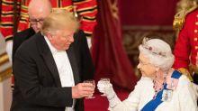 Trump bei den Royals: Kein gutes Händchen mit der Queen