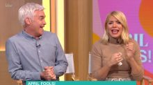 Holly Willoughby reduced to tears by Phillip Schofield's 'This Morning' April Fool's Day prank