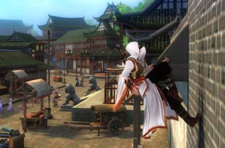 Openly mock gravity with Age of Wushu's flying skills