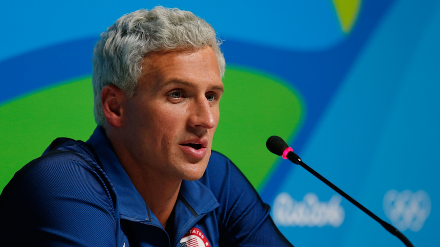 Ryan Lochte joins Amber Rose on Dancing with the Stars