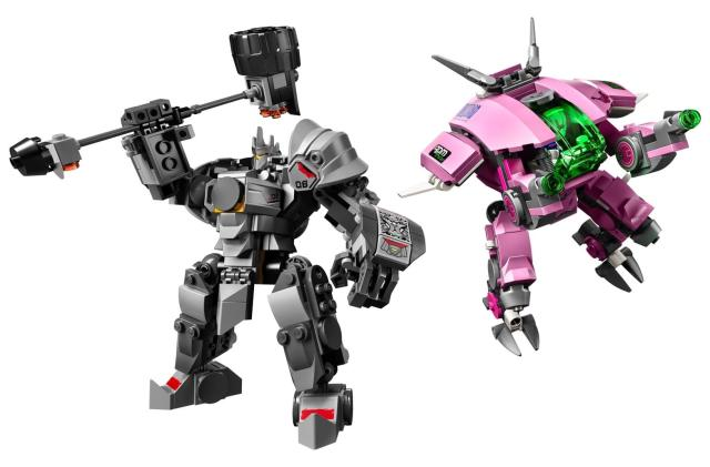 Lego reveals six 'Overwatch' sets that are coming next year