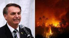 Enquanto Pantanal arde em chamas, Bolsonaro defende na ONU política ambiental do Brasil