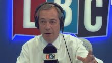 Nigel Farage vows to leave the UK if Brexit is a 'disaster'