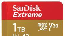 Western Digital Unveils World's Fastest 1TB UHS-I microSD™ Card
