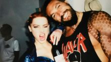 Jason Momoa and Amber Heard Celebrate the End of Filming 'Aquaman' -- See the Pics!