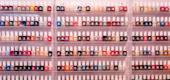 Nail polish at the Beverly Nail Studio in Queens on Nov. 11, 2020. (Jeenah Moon/The New York Times)