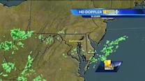 Weather patterns changing over Maryland