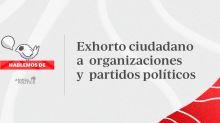 Exhortan legisladores y exlegisladores a partidos y ciudadanos a comprometerse para combatir pobreza, corrupción y violencia