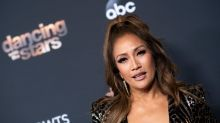 'DWTS' judge Carrie Ann Inaba says she cried over 'sudden' dismissal of Tom Bergeron, Erin Andrews
