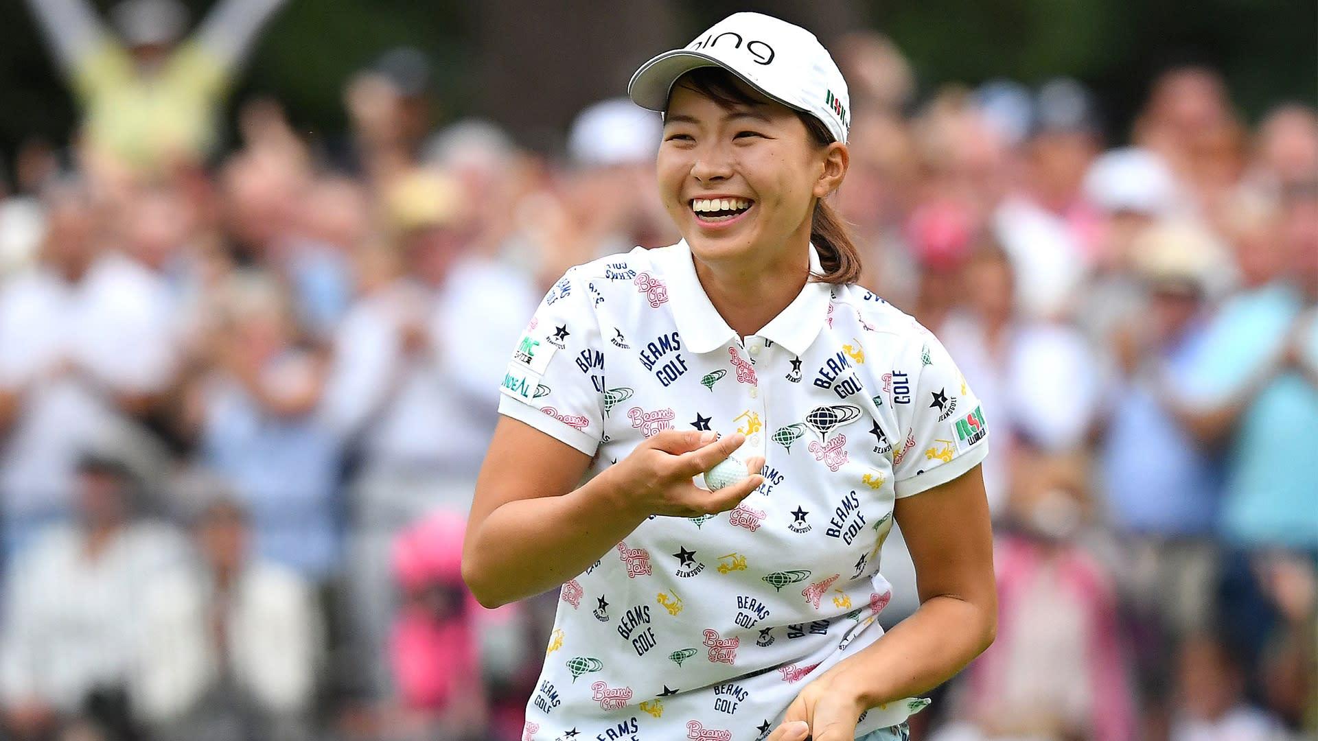 'Smiling Cinderella' Shibuno returns to LPGA at Swinging Skirts